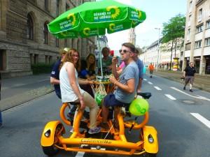 Grüne auf der CSD-Parade