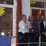 Gisa Flake singt im Grünen Laden, Neujahrsempfang 2017
