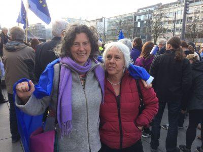 Ghalia El-Boustami und Juliane Krause bei Pulse of Europe Braunschweig