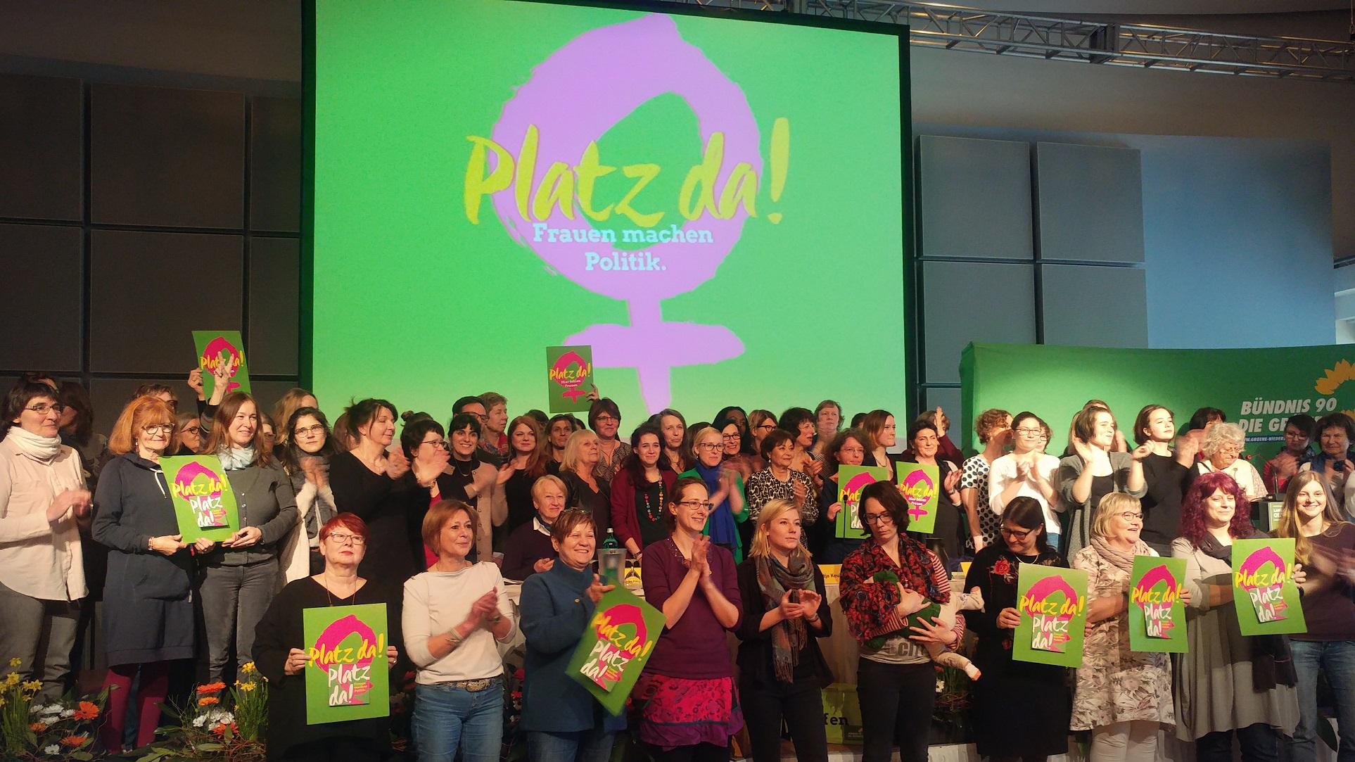 Digitalisierung und Erneuerung: Der grüne Landesparteitag in Oldenburg