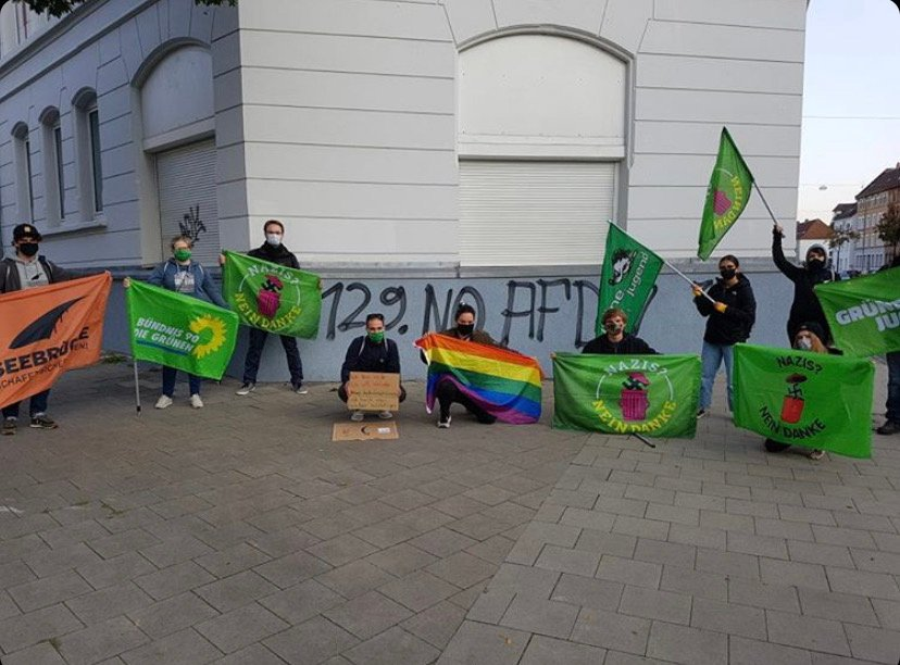 GRÜNE JUGEND Niedersachsen und Bündnis'90/DIE GRÜNEN Braunschweig verurteilen den Einsatz von Hunden und Pfefferspray bei der Demo gegen den AfD Landesparteitag