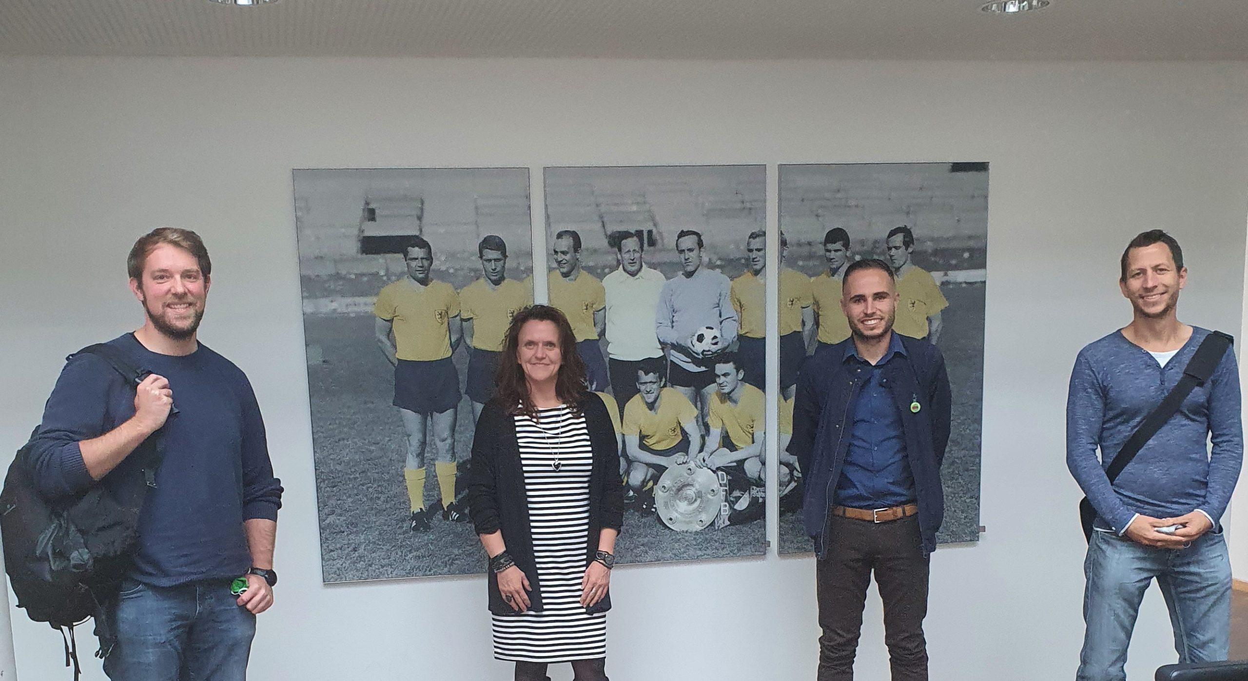 Austausch mit der Eintracht Braunschweig Stiftung