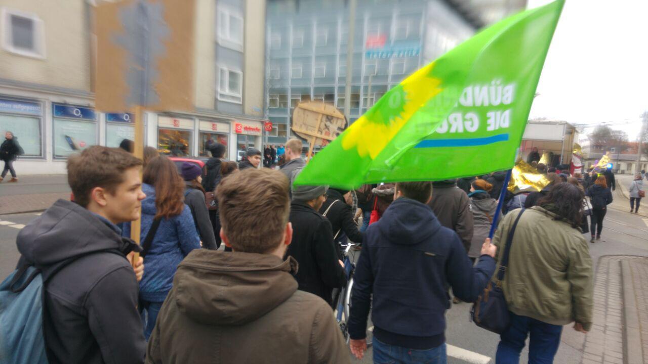 Grüne erfreut über große Demonstration zum Frauen*kampftag in Braunschweig