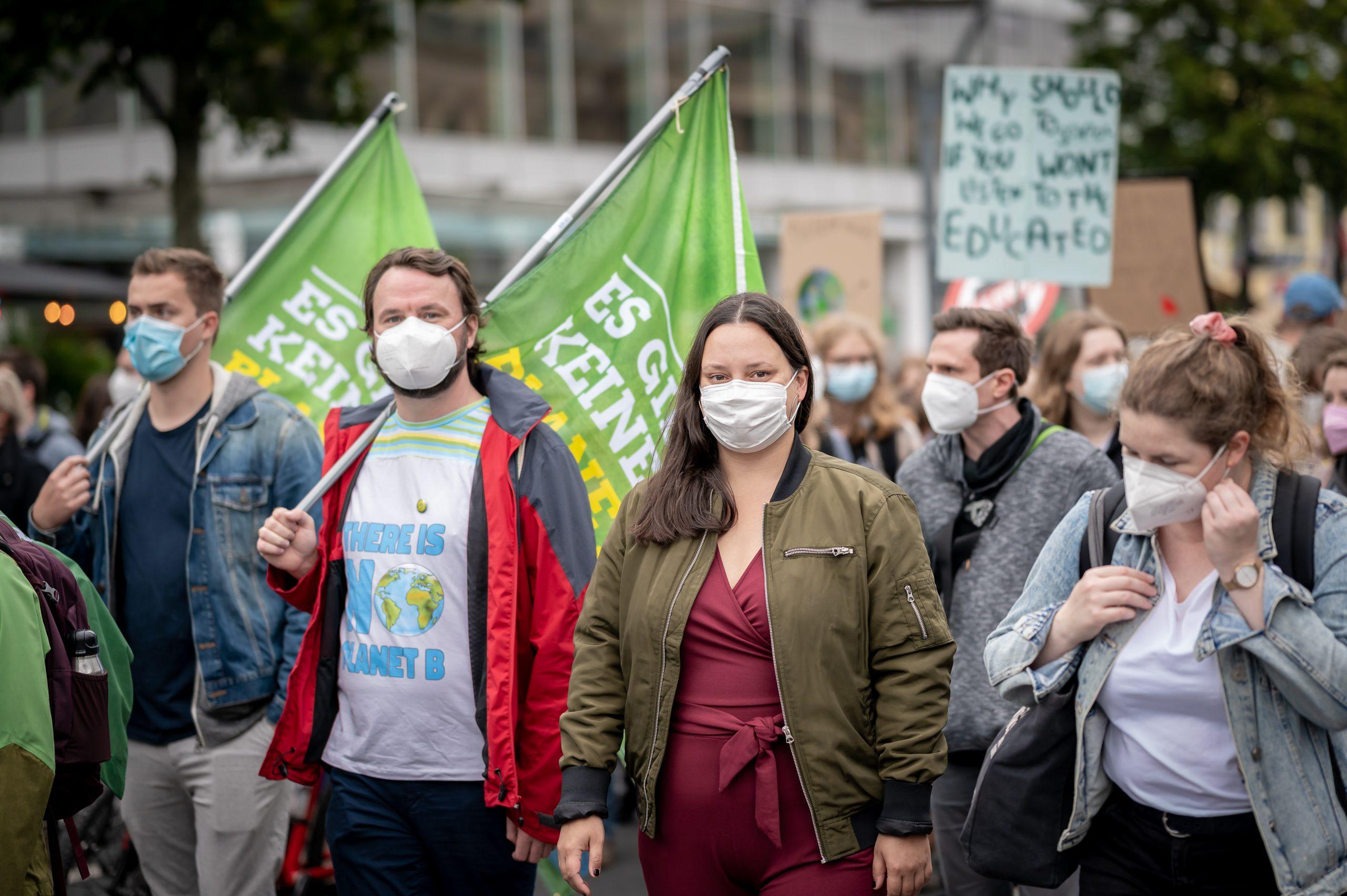 Grüne bei FFF Klimastreik