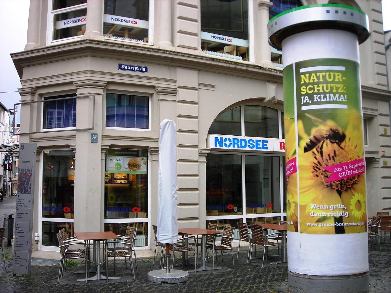 Grüne Werbung verschönert Braunschweig!