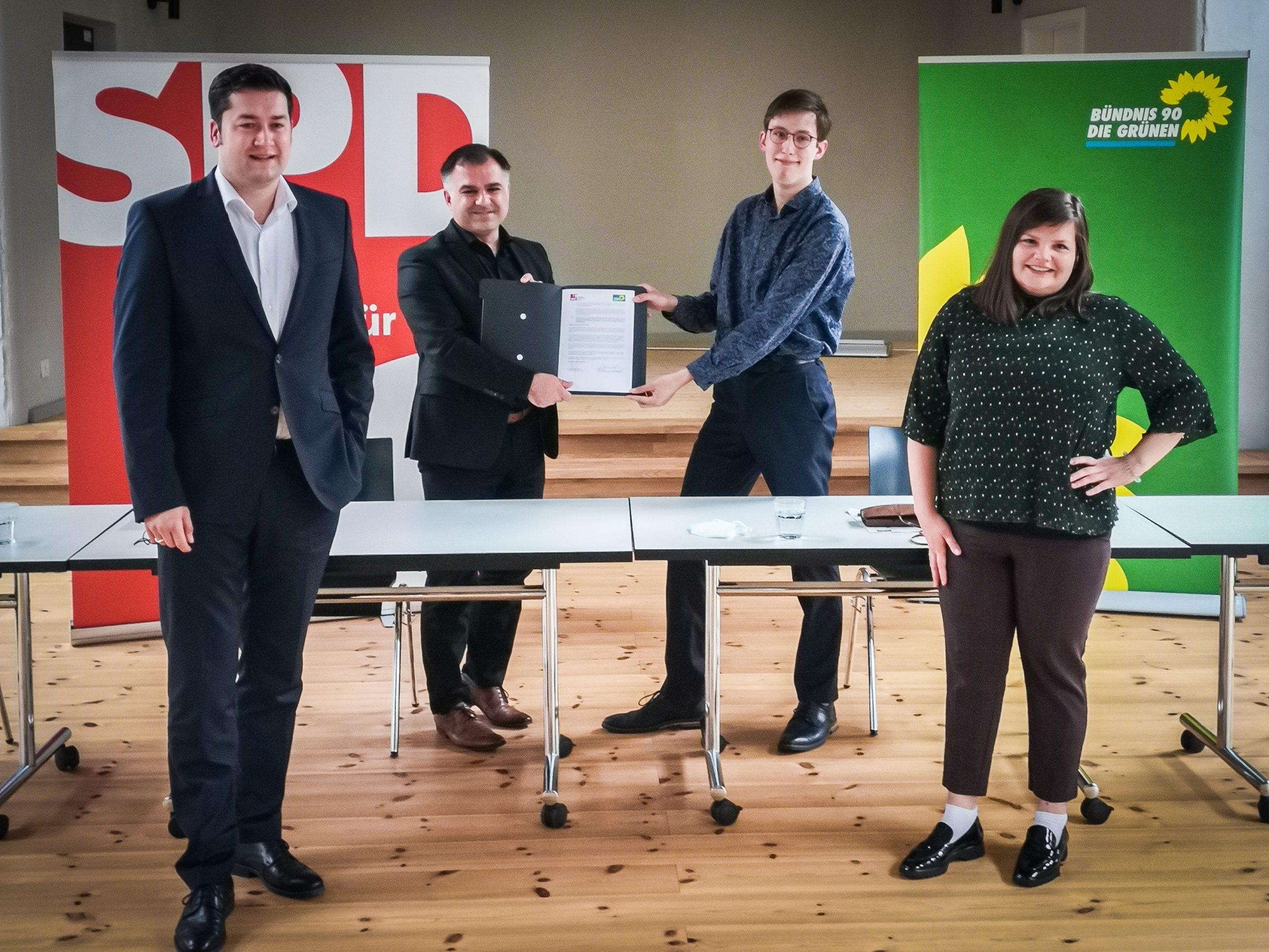 GRÜNE und SPD starten Kooperation für die nächste Ratsperiode – GRÜNE rufen zur Wahl von Kornblum in der Stichwahl auf