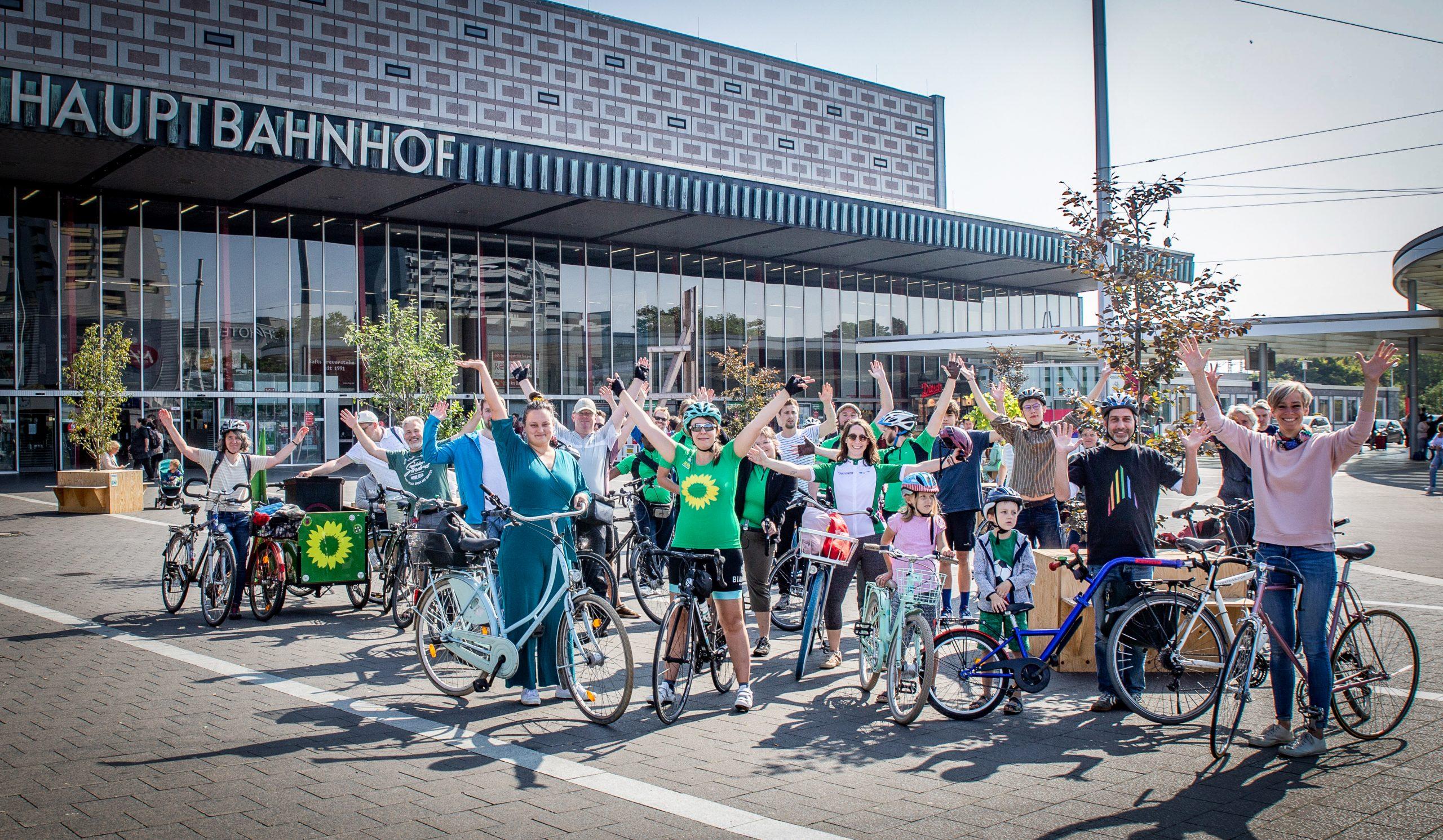 Grüne Fahrradtour – Start mit knapp 2000km ins STADTRADELN