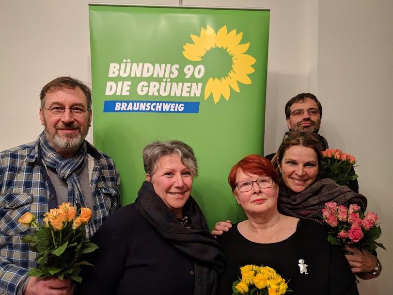 BÜNDNIS 90/ DIE GRÜNEN Braunschweig wählen neuen Kreisvorstand