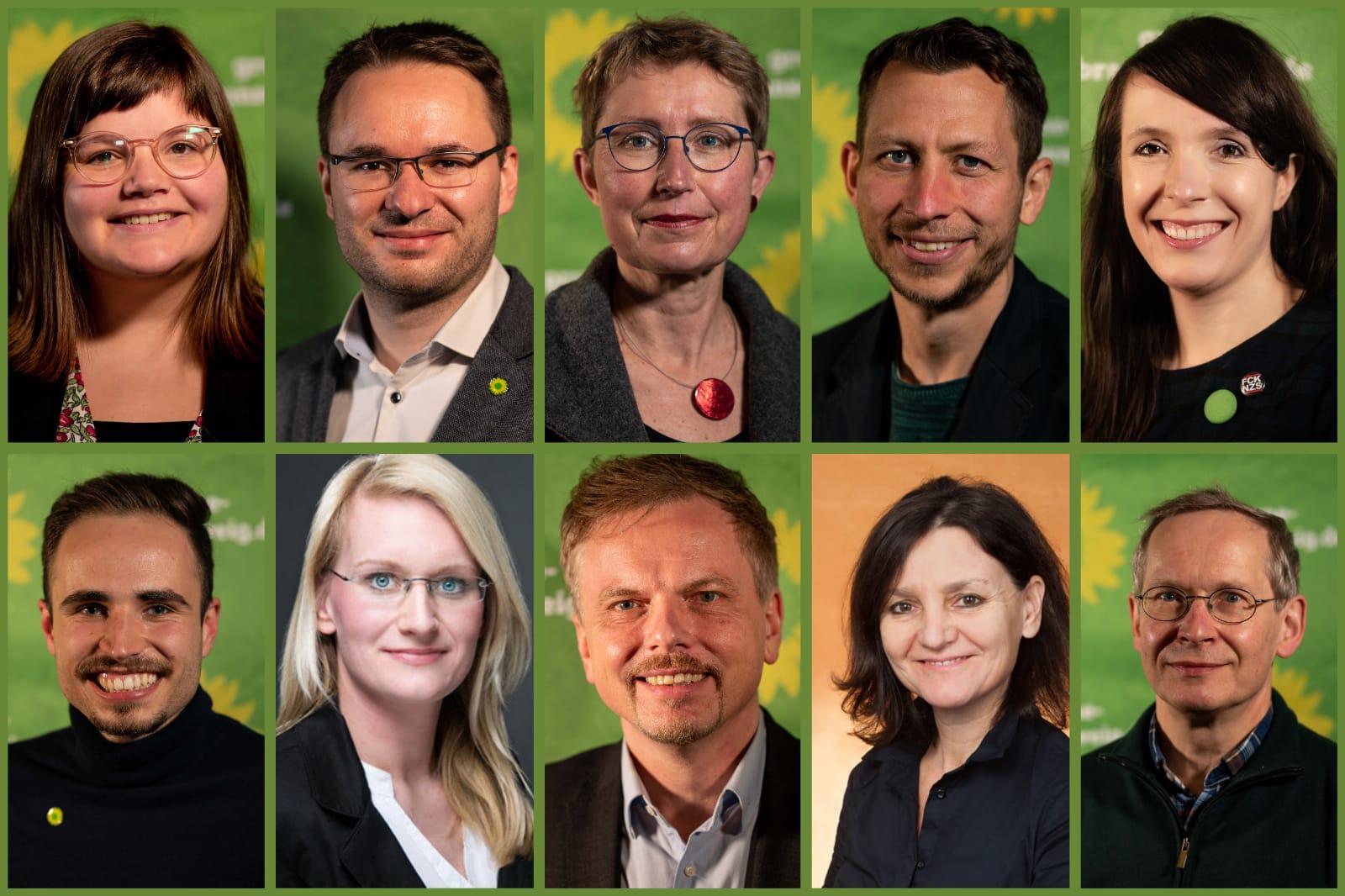 Grüne nominieren Kandidat*innen für den Rat der Stadt