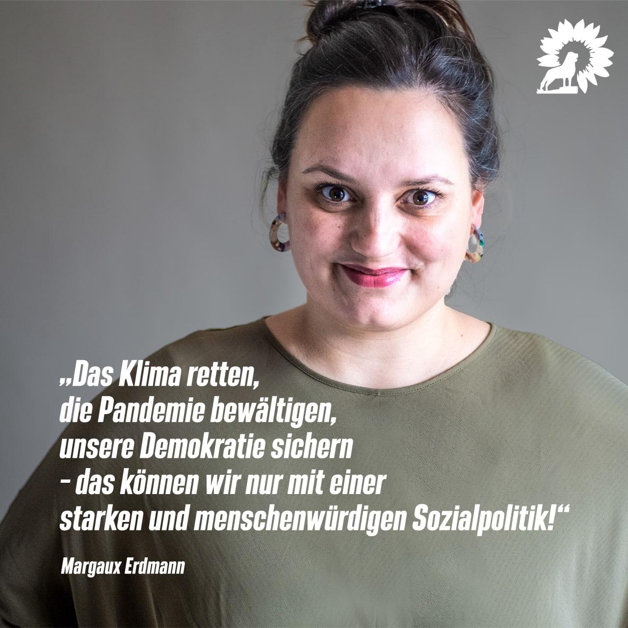 Jetzt online! – Bewerbungsrede der Braunschweiger Grünen Bundestagskandidatin Margaux Erdmann