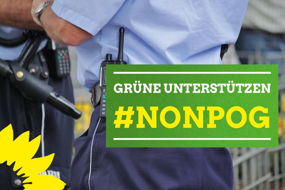 Nein zum neuen niedersächsischen Polizeigesetz (NPOG)